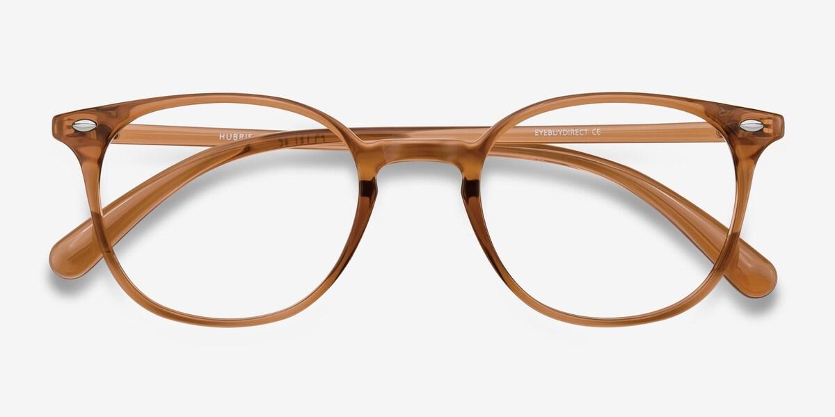 Hubris | Clear Copper Plastic Eyeglasses | EyeBuyDirect