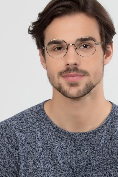 Inscription Bronze Metal Eyeglass Frames for Men from EyeBuyDirect