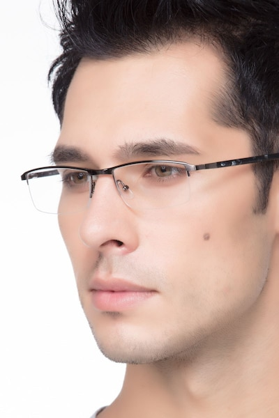 Mel  Silver  Metal Eyeglass Frames for Men from EyeBuyDirect