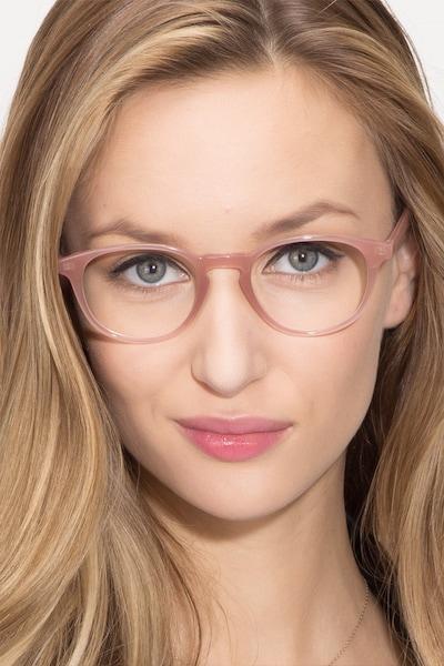 Sea Breeze Pink Plastic Eyeglass Frames for Women from EyeBuyDirect