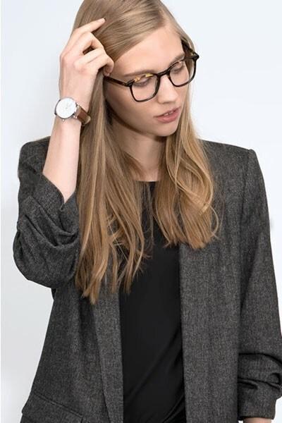 Sequence Amber Tortoise Acétate Montures de Lunettes pour Femmes d'EyeBuyDirect