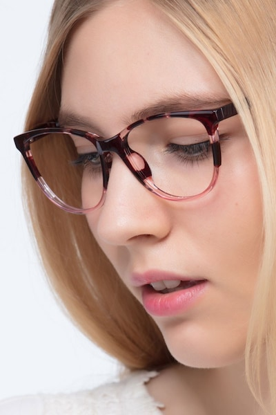 Release Floral Plastic Eyeglass Frames for Women from EyeBuyDirect