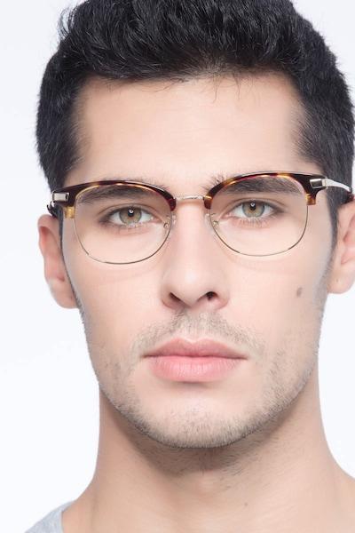 Kinjin Ecaille Acétate Montures de Lunettes pour Hommes d'EyeBuyDirect