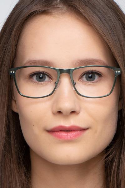 Comity Argent Acétate Montures de Lunettes pour Femmes d'EyeBuyDirect