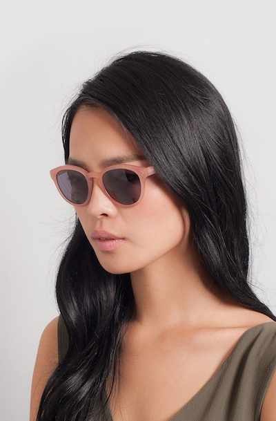 Augustine Pink Plastic Sunglass Frames for Women from EyeBuyDirect