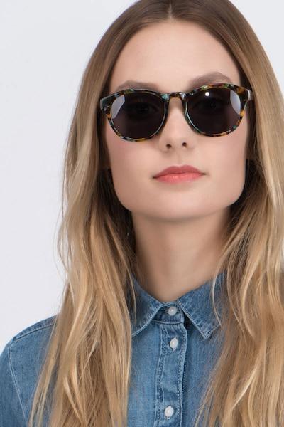 Coppola Green Tortoise Acetate Sunglass Frames for Women from EyeBuyDirect