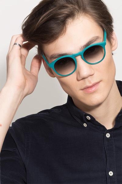 Air Matte Green Acetate Sunglass Frames for Men from EyeBuyDirect