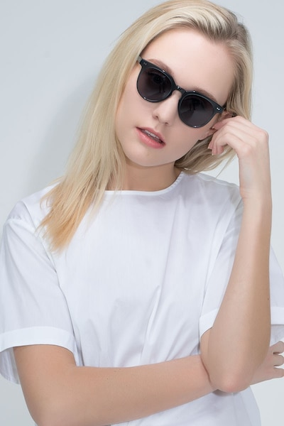 Shadow Viridian Acetate Sunglass Frames for Women from EyeBuyDirect