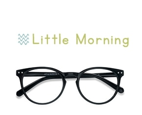 Black Little Morning -  Plastic Eyeglasses