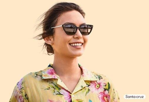 Horn-Rimmed and Cat-Eye Prescription Sunglasses