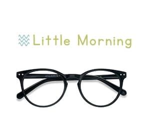 Noir Little Morning -  Plastique Lunettes de Vue