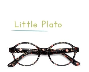 Floral Little Plato -  Colorful Plastic Eyeglasses
