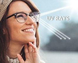 UV Protective Coating at EyeBuyDirect
