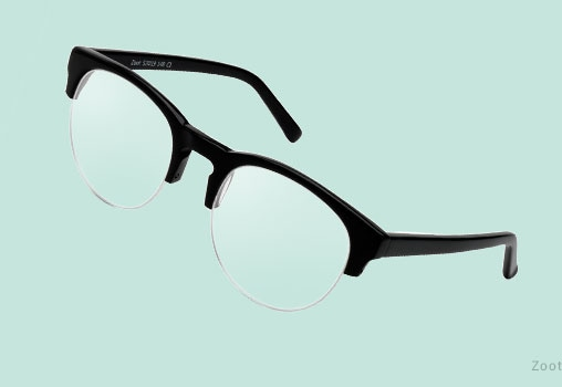 Semi Rimless Eyeglasses Unisex