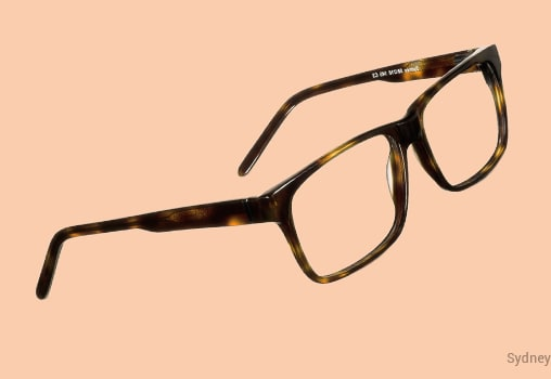 Rectangle Eyeglasses Unisex