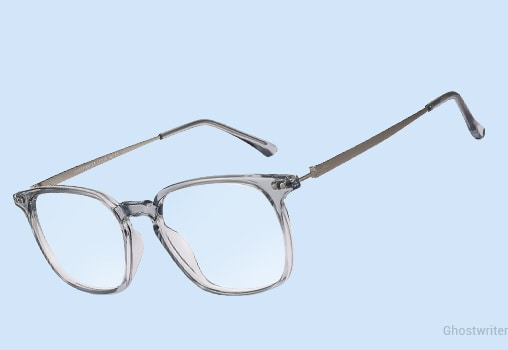 Blue Eyeglasses Unisex