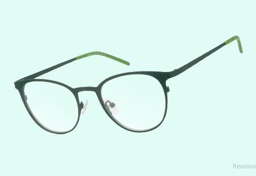 Green Eyeglasses