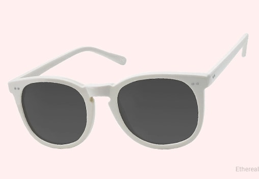 White Sunglasses Unisex