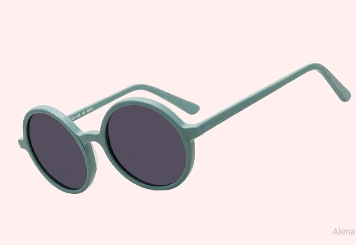 Green Sunglasses Unisex