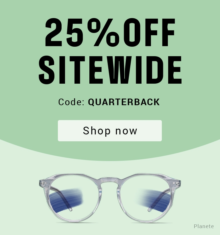Super Bowl Special Get Your Game Frames On   25% OFF Sitewide  Code: QUARTERBACK