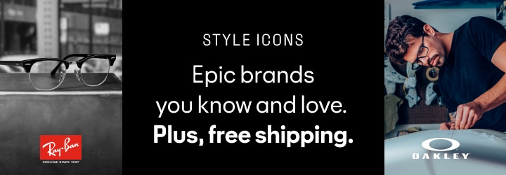 Epic brands you know and love. Plus, free shipping