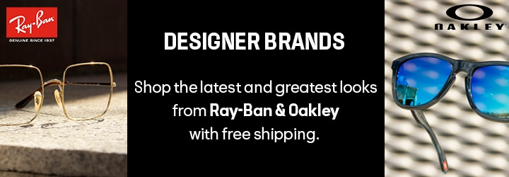 Designer Brands  Shop the latest and greatest looks from Ray-Ban & Oakley — with free shipping.
