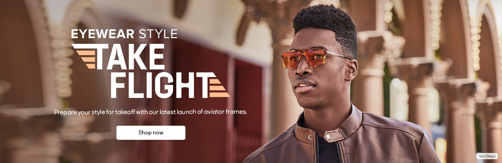 Take Flight  Prepare your style for takeoff with our latest launch of aviator frames.