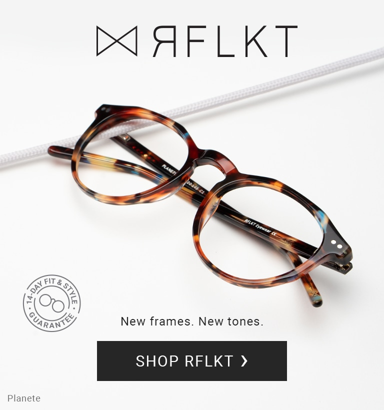 Introducing new rflkt frames premium eyewear with frame, lenses and case included